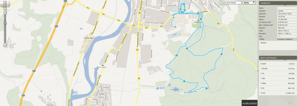 102 min. Joggen im Grundlagenausdauer 1 Bereich - Trailrun durch den Wald - Auslaufen auf der Bahn - 10 km...