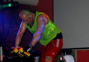 Nach vier Trainingseinheiten, die vierte Spinning® im Sportcamp, Fitnesscamp