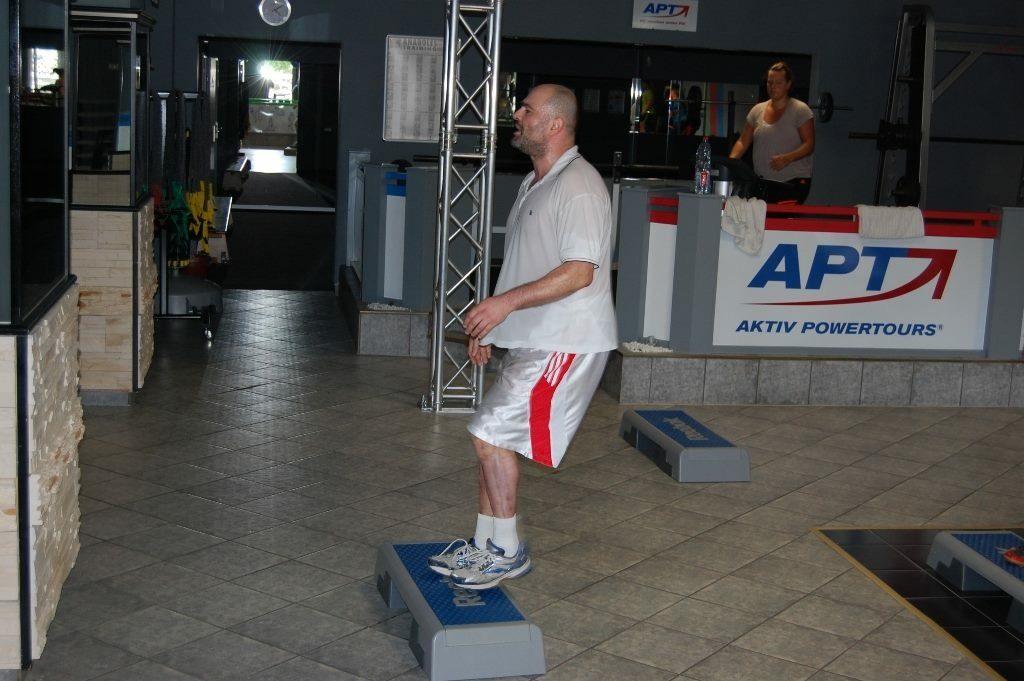 90 Minuten Powerstepp  heute mein Training im Sportcamp von Aktiv-Powertours®,  Fitnesscamp, Fitness Bootcamp, Fitness Reise, Fitness Urlaub, abnehmen im Urlaub, abnehmen im Camp
